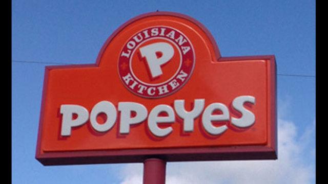 Popeyes fried chicken logo - photo#23