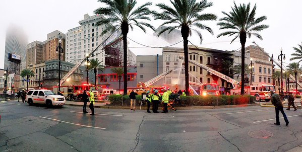 Viewer photos, videos from mega fire on Canal Street