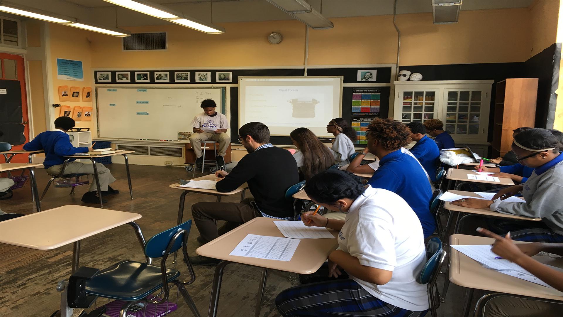 High school writing class starts its own podcast | wwltv.com