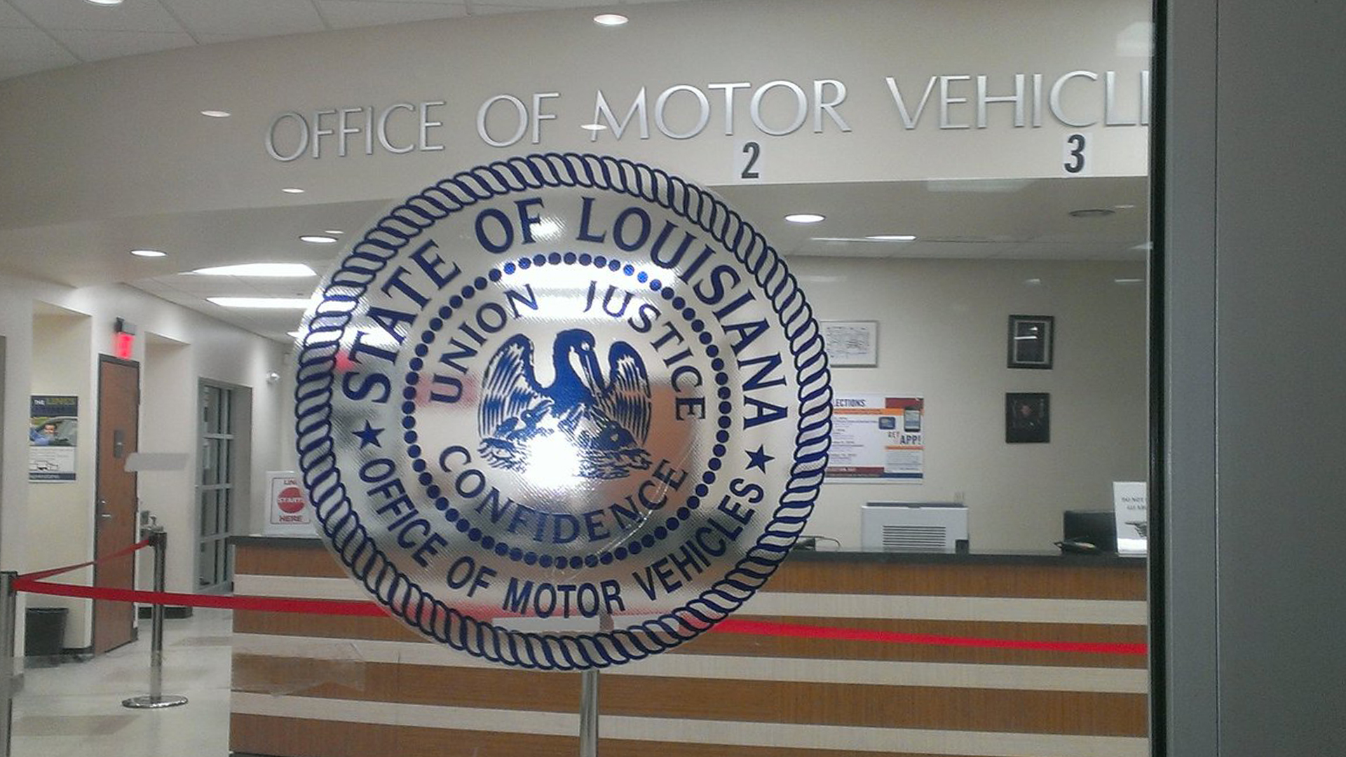 Dmv will reverse no cash policy for most transactions for Office of motor vehicles new orleans la