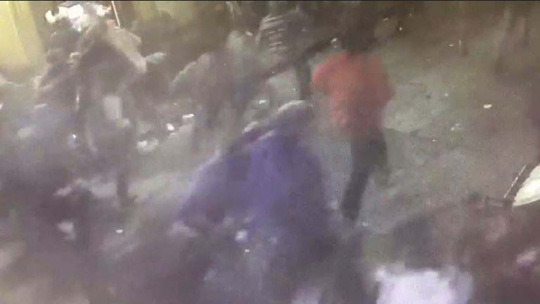 Video captures chaos on Bourbon Street during mass shooting
