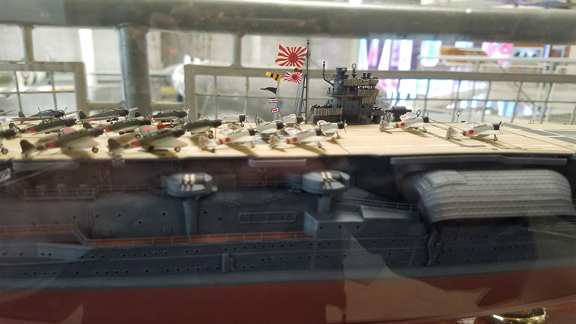 PHOTOS: Model Pearl Harbor Japanese aircraft carriers at the Nat'l WWII Museum