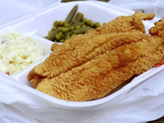 Where to eat fried fish during lent for What goes good with fried fish