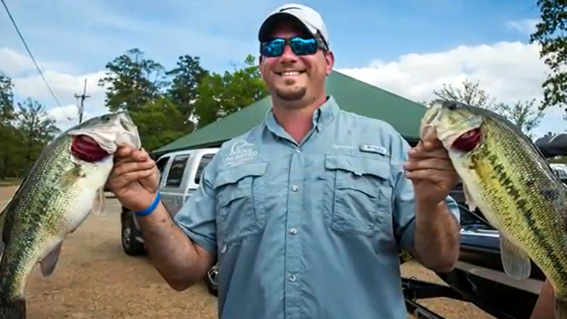 Fish game bass fishing at toledo bend for Bass fishing game